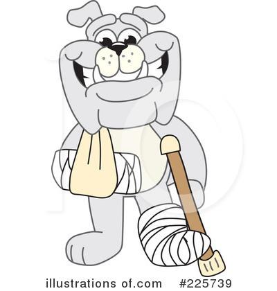 Bulldog Mascot Clipart #225739 - Illustration by Toons4Biz