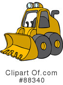 Bulldozer Clipart #1115957 - Illustration by BNP Design Studio