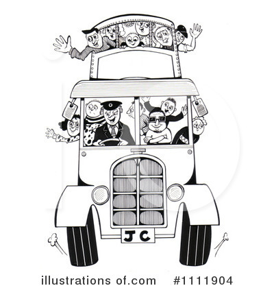 Double Decker Clipart #1111904 by Prawny