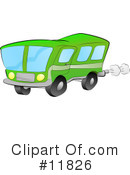 Bus Clipart #11826 by AtStockIllustration