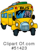 Bus Clipart #51423 by dero