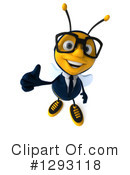 Business Bee Clipart #1293118 by Julos