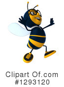 Business Bee Clipart #1293120 by Julos