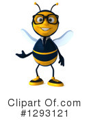 Business Bee Clipart #1293121 by Julos