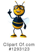 Business Bee Clipart #1293123 by Julos
