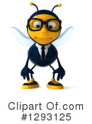 Business Bee Clipart #1293125 by Julos