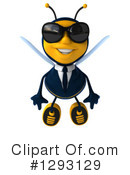 Business Bee Clipart #1293129 by Julos