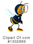 Business Bee Clipart #1302889 by Julos