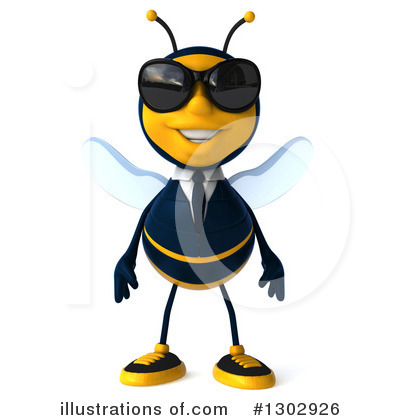 Business Bee Clipart #1302926 by Julos