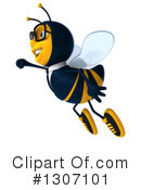 Business Bee Clipart #1307101 by Julos