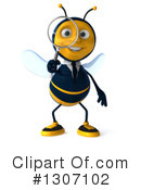 Business Bee Clipart #1307102 by Julos