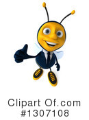 Business Bee Clipart #1307108 by Julos