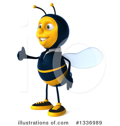 Business Bee Clipart #1336989 by Julos