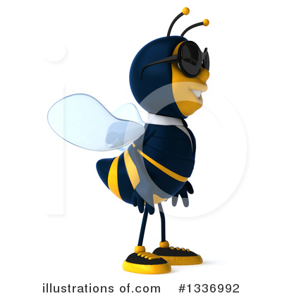 Business Bee Clipart #1336992 by Julos