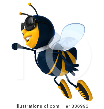 Business Bee Clipart #1336993 by Julos
