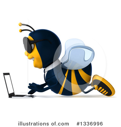 Business Bee Clipart #1336996 by Julos