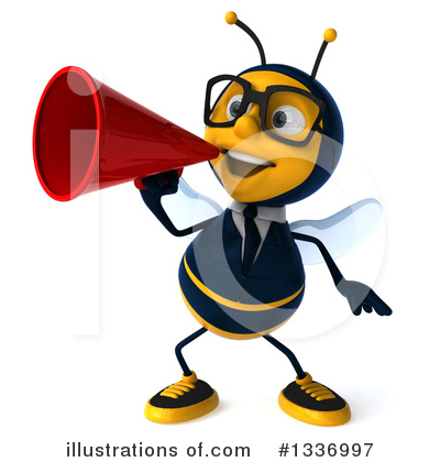 Business Bee Clipart #1336997 by Julos