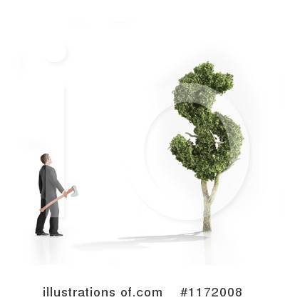 Money Tree Clipart #1172008 by Mopic