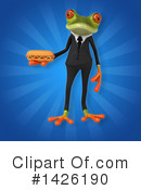 Business Frog Clipart #1426190 by Julos