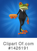 Business Frog Clipart #1426191 by Julos