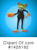 Business Frog Clipart #1426192 by Julos