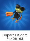 Business Frog Clipart #1426193 by Julos