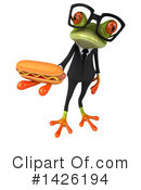 Business Frog Clipart #1426194 by Julos