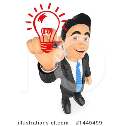 Business Man Clipart #1445499 by Texelart