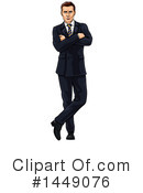 Business Man Clipart #1449076 by AtStockIllustration