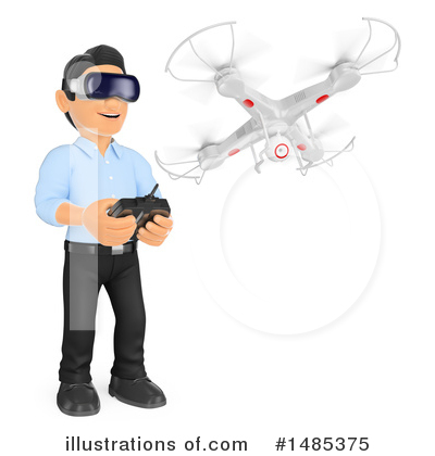 Drone Clipart #1485375 by Texelart