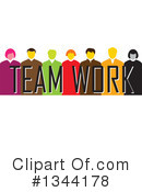 Business Team Clipart #1344178 by ColorMagic