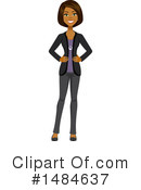 Business Woman Clipart #1484637 by Amanda Kate