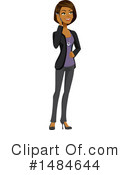 Business Woman Clipart #1484644 by Amanda Kate