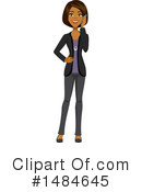 Business Woman Clipart #1484645 by Amanda Kate