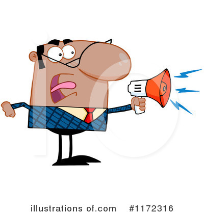 Businessman Clipart #1172316 by Hit Toon