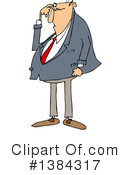 Businessman Clipart #1384317 by djart