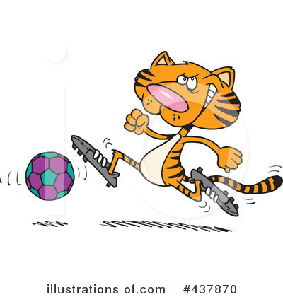Soccer Clipart #437870 by toonaday