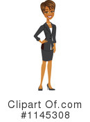 Businesswoman Clipart #1145308 by Amanda Kate