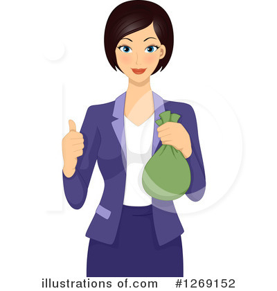 businesswoman clipart 1269152 illustration by bnp design studio rh illustrationsof com businesswoman clipart black and white businessman clipart free