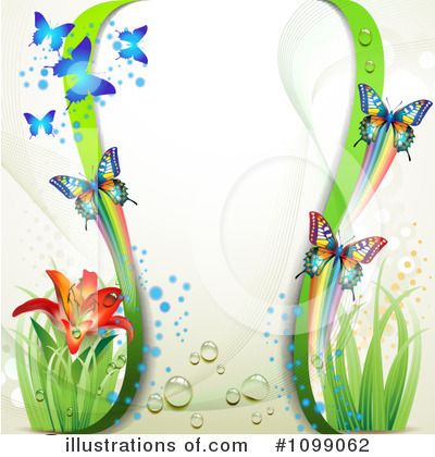 Spring Background Clipart #1099062 by merlinul
