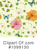 Butterfly Background Clipart #1099130 by merlinul