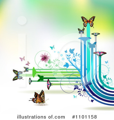 Spring Background Clipart #1101158 by merlinul