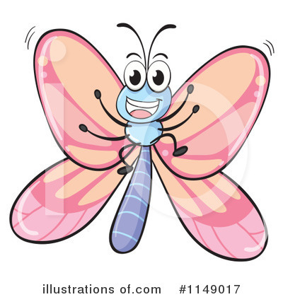 Butterfly Clipart #1149017 by Graphics RF