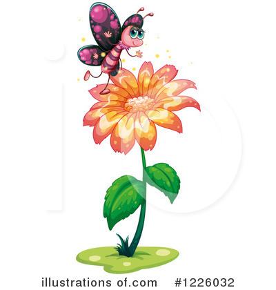 Butterfly Clipart #1226032 by Graphics RF