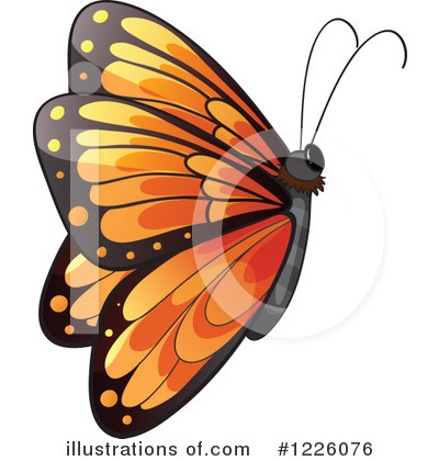 Butterfly Clipart #1226076 by Graphics RF