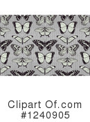 Butterfly Clipart #1240905 by AtStockIllustration