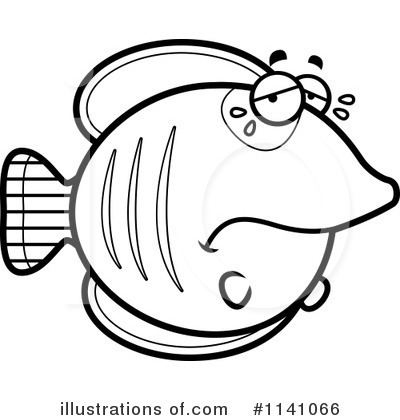 Royalty Free RF Butterfly Fish Clipart Illustration By Cory Thoman