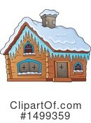Cabin Clipart #1499359 by visekart