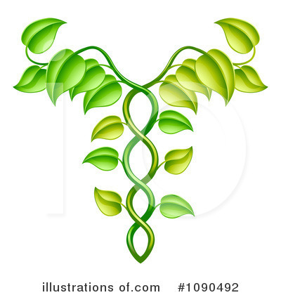 Caduceus Clipart #1090492 by AtStockIllustration