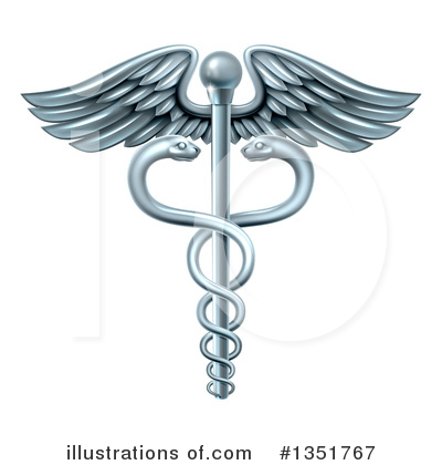 Caduceus Clipart #1351767 by AtStockIllustration